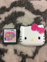 Loving Life With Hello Kitty & Friends (Nintendo DS, 2011) & Small Case - $12.95