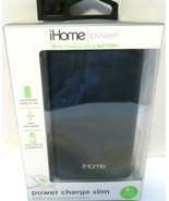 iHome Smartphone Portable Battery Charger Smartphone charge Power Bank NEW - $19.33