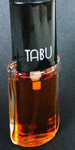 Vintage Dana Tabu Spray Mist Concentrate Perfume 1/2 oz 95% Full - $18.38