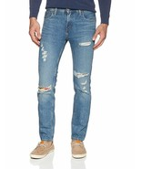 Levi's Strauss 511 Men's Destroyed Distressed Slim Fit Stretch Jeans 511... - $49.85