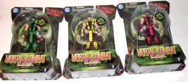 "RARE LOT Mortal Kombat ✰ ERMAC ✰ SCORPION ✰ SUB-ZERO ✰ figure SEALED 4"" ... - $169.99"
