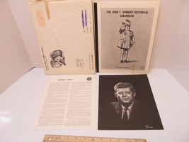 The John F. Kennedy Historical Scrapbook 1964 Henderson-Bain Miguel Tell... - $99.95