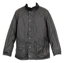 Barbour J Crew Digby Wax Jacket Black M - $257.59