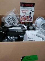 NEW Le Presse Gourmet Food Styler Manual Processor 8 Machines in 1 TR-20... - $48.33