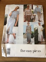 New uncut Vogue Pattern 2318 Dress TUNIC Skirt SHORTS Pants PONCHO 14 16... - $14.79