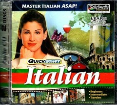 QuickStart Italian (2 AUDIO CD SET) - NEW CDs in SLEEVE - $6.98