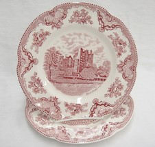"Johnson Bros Old Britain Castles 2 Dinner Plates Blarney 1792 Exc Condition 10"" - $24.74"