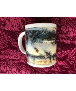 Vintage 1992 Thomas Kinkade Victorian Christmas Mug EUC - $24.99