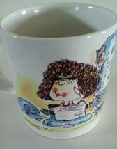 Russ Berrie Secretary Design Around Coffee Cup Mug - $7.84