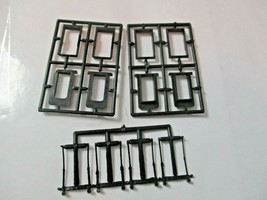 American Limited # 8510 Operating Diaphragms For Streamliners Black N-Scale image 2