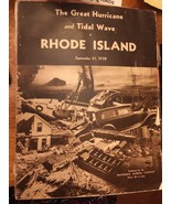 The Great Hurricane And Tidal Wave Rhode Island 1938/Providence Journal/... - $12.92