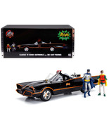 Classic TV Series Batmobile with Working Lights, and Diecast Batman and ... - $85.42