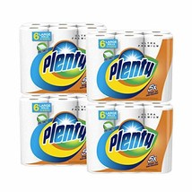Plenty Ultra Premium Full Sheet Paper Towels, White, 15 Total Rolls