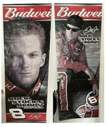 "2003 Dale Earnhardt Jr. Vinyl Banner 22 x 60 Inches Budweiser Beer ""NR"" - $23.01"