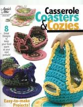 Annie's Attic Crochet-Casserole Coasters & Cozies-8 Designs To Keep Food Warm - $5.86