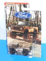 Matchbox 2019 Ford Truck Series '72 Ford Bronco 4x4 Black SKYJACKER - $4.00