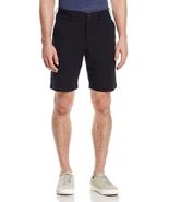 Mens Bloomingdales Seersucker Regular Fit Shorts Walking Bermuda Black S... - $29.65