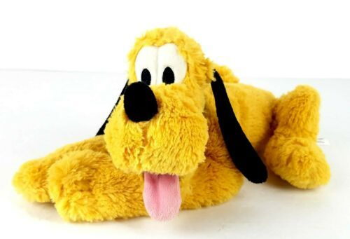 "Primary image for Disney Store Super Soft Plush Beanie Bottom 12"" Pluto Mickey Mouse's Best Friend"