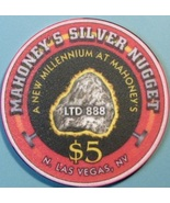 $5 Casino Chip, Silver Nugget, N. Las Vegas, NV. Millennium, LTD 888. W45. - $6.50