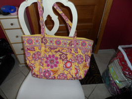 Vera Bradley Miller Bag in Bali Gold pattern - $66.00