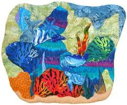 Seascape: Quilted Art Wall Hanging - $405.00
