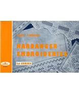 DMC Library Hardanger Embroideries 1st Series Pattern Booklet RARE - $13.47