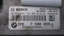 09 Mini Cooper R56 ECU ECM DME CAS3 Computer Ignition Switch Fob Tach SET - 6spd image 7