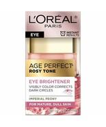 Rosy Tone Anti-Aging Eye Cream Moisturizer, Dark Circles Under Eye Treat... - $24.30