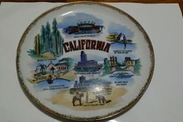 Vintage Golden State California Centennial Novelty Japan Sovenier Plate ... - $19.79