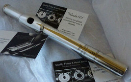 VERNE Q POWELL ARDELEVE BOSTON HANDMADE SOLID STERLING SILVER FLUTE HEAD... - $1,999.95