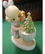 """PRECIOUS MOMENTS Figure-.""""May Your Days Be Merry and Bright""""...FREE POS... - $22.36"""