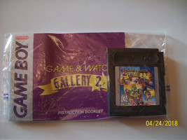 Game & Watch Gallery 2 (Nintendo Game Boy Color, 1998) WITH MANUAL - AUT... - $9.00