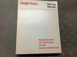 1971 1972 1973 1974 Dodge Camion Modelli 500-1000 Basso Cabina Tilt Serv... - $59.51