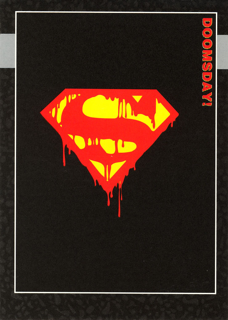 Primary image for Doomsday: The Death of Superman Promo Card