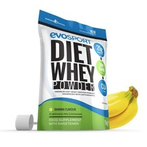 EvoSport Diet Whey Protein with CLA, Acai Berry & Green Tea 1kg Banana - $25.99
