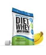 EvoSport Diet Whey Protein with CLA, Acai Berry & Green Tea 1kg Banana - $25.99