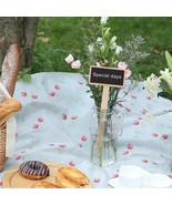 10Pcs Mini Wooden Blackboard Garden Flowers Plants Tags - $9.99