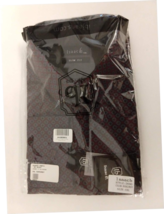 Isaac B Slim Fit Dress Shirt Burgandy XXL New In Package image 1
