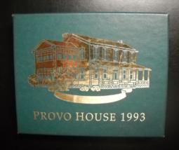 Design Masters Associates Christmas Ornament 1993 Provo House 24KT Finis... - $7.99