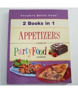 Favorite Brand Name : 2 Books In 1 - Appetizers & Party Food Cookbook - $9.49
