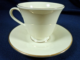 Lenox Hayworth Footed Cup and Saucer Set - $15.80