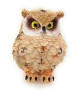 Owl Figurine Small Tan 2 inch Garden Home Decor Gift New GSC 54281 B - $5.77