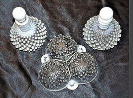 Milk Glassware AB 734 Vintage 3Pc image 6