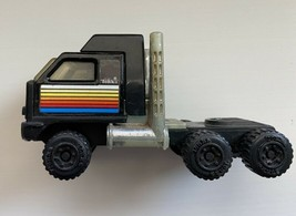 Vintage 1981 TONKA CORP Black BF Goodrich Collectible Semi Truck Toy (Cab Only) - $19.99