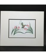Hummingbird Richard Shorty Arte Tarjeta Del Norte Tuchone Yukon Nativo F... - $24.25