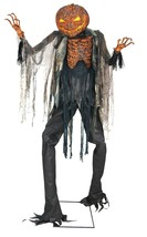 LED Brand New Animated Scorched Scarecrow Without Fog Machine Halloween ... - $261.44