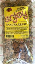 Enjoy Sakura Arare Rice Crackers Snack 8 Ounce bag - $13.99