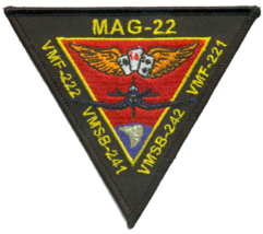 USMC MATSG-22 Friday Patch - $11.87