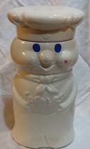 "vtg 1973 Pilsbury Doughboy Cookie jar ceramic 10 1/2"" - $26.11"
