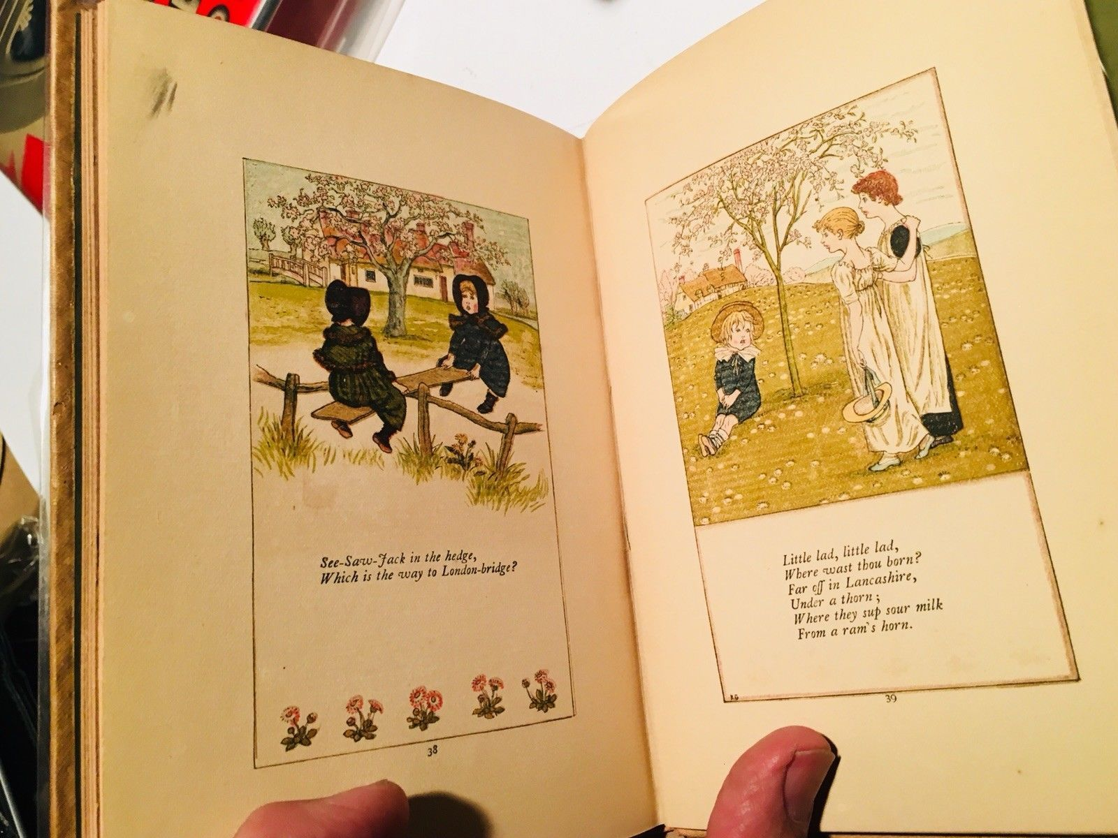 Mother Goose - Kate Greenaway 1881 1st/2nd Nice copy